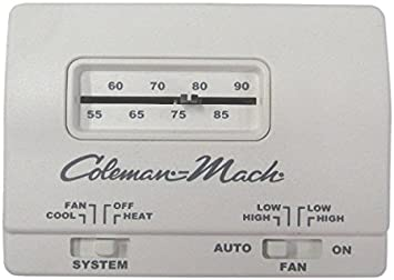 Coleman Rv Camper mach Manual Thermostat on coleman mobile home ac units, from 1987 mobile home furnace thermostats, coleman mobile home filters, mobile home hvac thermostats, suburban rv heater thermostats, coleman mobile home heating, coleman mobile home heaters,