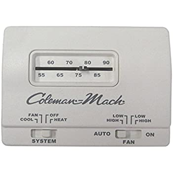 Rv C&er Coleman-mach Manual Thermostat  sc 1 st  Amazon.com : coleman mach thermostat wiring - yogabreezes.com