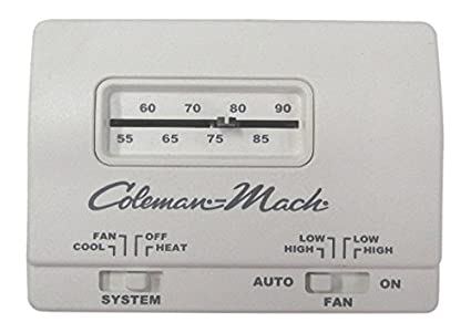 image unavailable  image not available for  color: coleman rv camper mach  manual thermostat