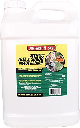 RAGAN AND MASSEY 75334 015006 Compare N Save Systemic Tree And Shrub Drench, 2.5 gallon