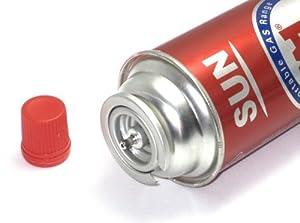 Butane Refill Fuel Gas Can Cartridge For Camping Portable Stove Gas Range  8oz