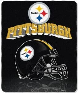 The Northwest Company Pittsburgh Steelers Fleece Throw 50x60