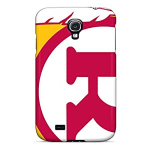 JasonPelletier Samsung Galaxy S4 Scratch Resistant Hard Phone Covers Customized Beautiful Washington Redskins Pattern [reP17887qZit]