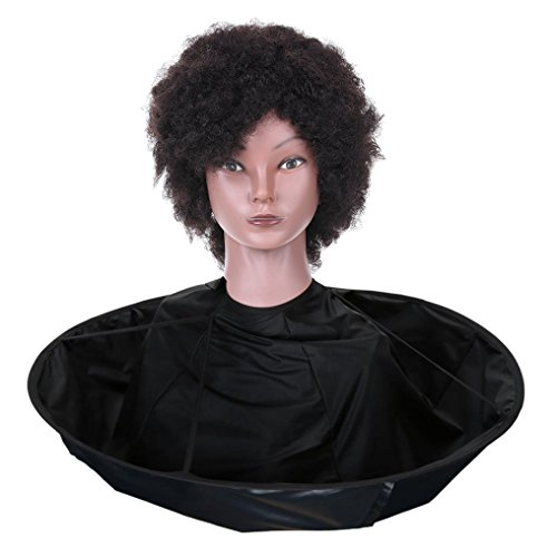 Cut Scarf - Anself Haircut Cape Barber Apron Umbrella Cape Hair Coloring Cloak Hairdressing Scarf