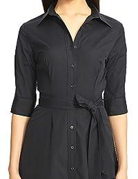 Lauren Ralph Lauren Women's Belted Shirt Dress