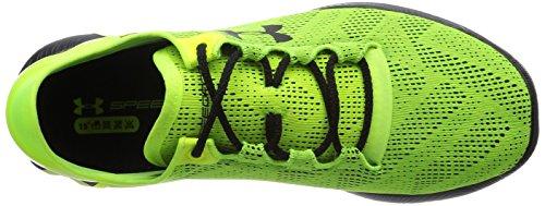 Under Armour UA SPEEDFORM APOLLO VENT - Zapatillas de running de material sintético para hombre Amarillo (High-Vis Yellow/Black/Black 731)