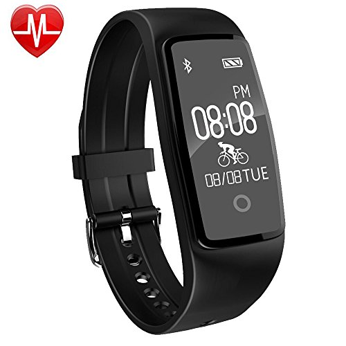 Willful Fitness Tracker, Fitness Watch Waterproof Heart Rate Monitor Activity Tracker Pedometer Watch with Step Counter,Calories,Sleep Monitor,Alarm Clock,Call SMS SNS Notice for Men Women Kids - Fitness Digital Watch