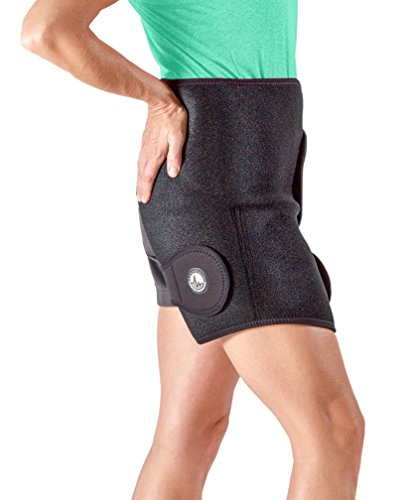 Hip Ice And Heat Wrap Reduces Hip Pain And Swelling. Fits Individuals With Waist Size 34