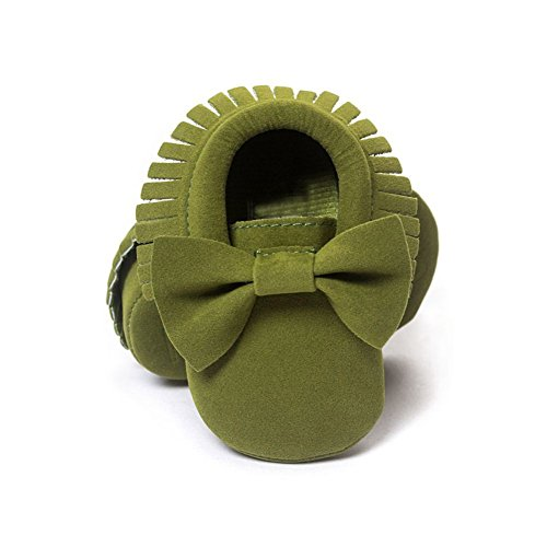 ESHOO bebé infantil unisex suave Sole Cuna zapatos de bebé Zapatillas zapatos de bebé E Talla:12-18 meses H