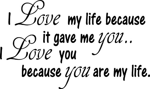 Love My Life it Gave Me You