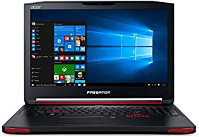 Acer Predator G9-791-71MG Notebook Gaming, Display da 17.3 IPS FHD, Processore Intel Core i7-6700HQ, RAM 16GB DDR4, SSD da 256GB + HDD da 1TB, Scheda Grafica NVIDIA GeForce GTX 970M da 3GB DDR5, Nero