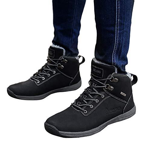 Chaussures Impermables D'extrieur Noires Pour D'outillage D'escalade Antidrapantes Hommes Bottes qxAz8WnSx