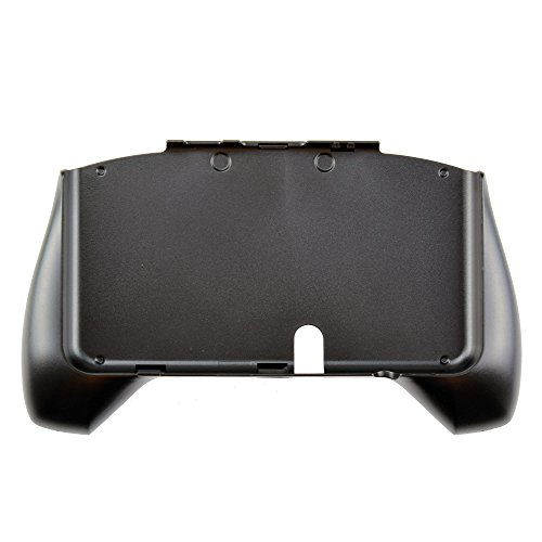Gam3Gear Plastic Hand Grip Holder Gaming Case with Handle Stand for Nintendo New 3DS Black ( NOT FOR XL version )