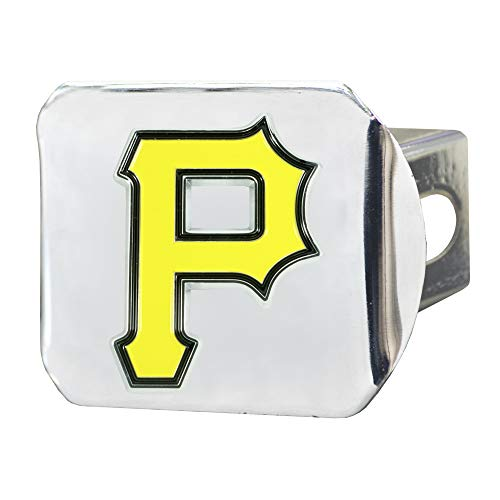 FANMATS MLB - Pittsburgh Pirates Color Hitch - Chrome