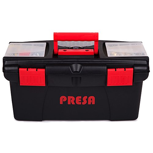 Presa Homeowner's Tool Kit Set, 150 Pieces of Essential Tools and Hardware You Need by Presa (Image #1)