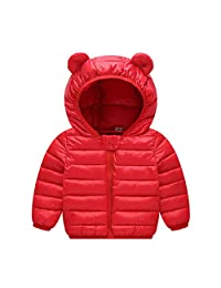 Ladysen Winter Coats for Kids with Hoods Lightweight Puffer Jacket for Girls and Boys