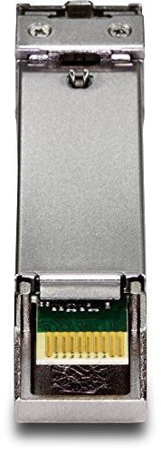 TRENDnet 10G-SR SFP+ module, Multi-Mode, LC Transceiver Module, Up to 550 m, TEG10GBSR by TRENDnet (Image #1)