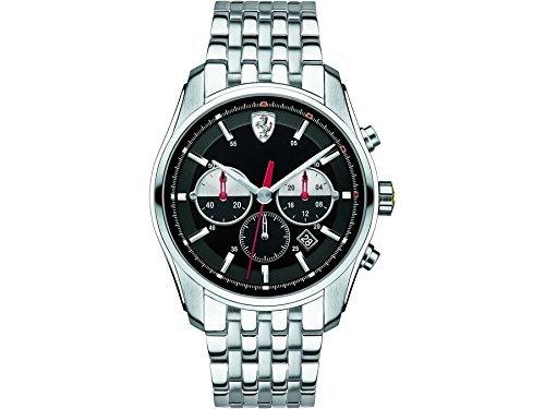 Scuderia Ferrari 0830197 GTB-C Chrono reloj para hombres por Ferrari: Amazon.es: Relojes