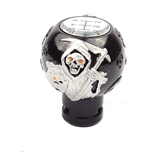 (ABy Universal Skull Ghost Manual Auto Car Gear Stick Shift Shifter Lever Knob Fit For Most Manual transmission vehicles(Style3))