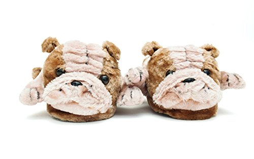 Womens Full Foot Premium 50 Seller Feet and Happy Slippers Top Bulldog Styles Animal Mens SqX88I