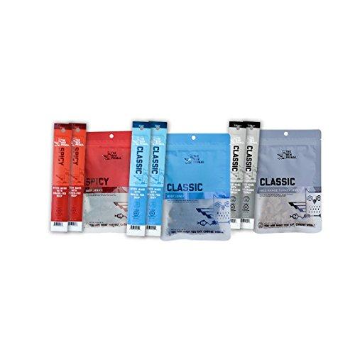 The New Primal Classic Flavors Sampler Pack, Jerky & Sticks