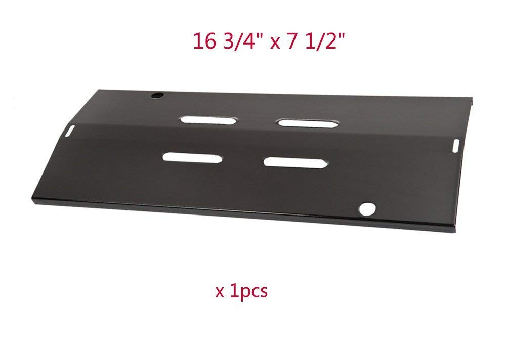 BBQ Mart 20022 Porcelain Steel Heat Plate Replacement for CGG-200 All Foods Portable Gas Grill