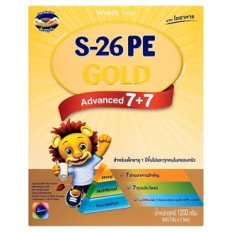 [JCh] S-26 PE Gold Vanilla flavor For baby aged 1 Year up 1200g.