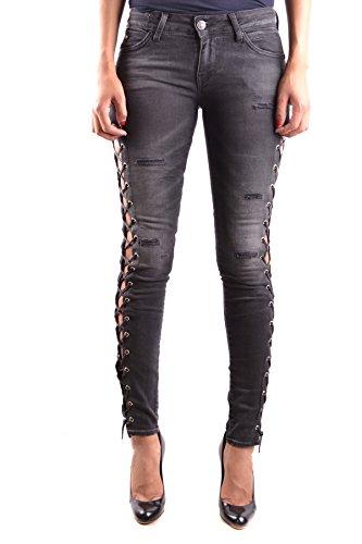 Meltin'pot Femme MCBI340074O Noir Coton Jeans