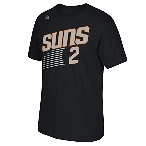NBA Phoenix Suns Eric Bledsoe #2 Men's Game Time Short Sleeve Go-To Tee, Large, Black
