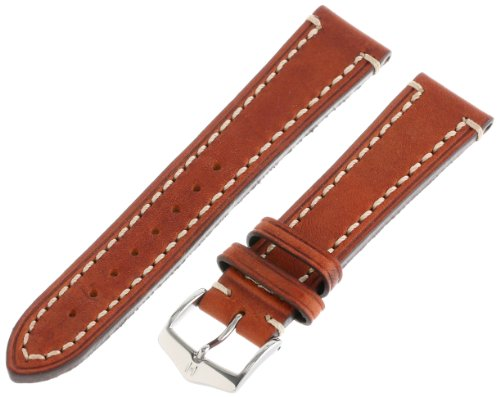 Hirsch 109002-70-20 20 -mm  Genuine Calfskin Watch Strap