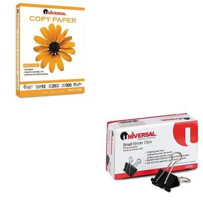 KITUNV10200UNV21200PLT - Value Kit - Universal Copy Paper (UNV21200PLT) and Universal Small Binder Clips (UNV10200)