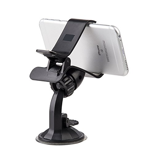 Apple Black Pda Case (Dream Wireless Universal Car Mount Holder for GPS/iPhone/PDA/Mobile Phone/MP4 - Retail Packaging - Black)