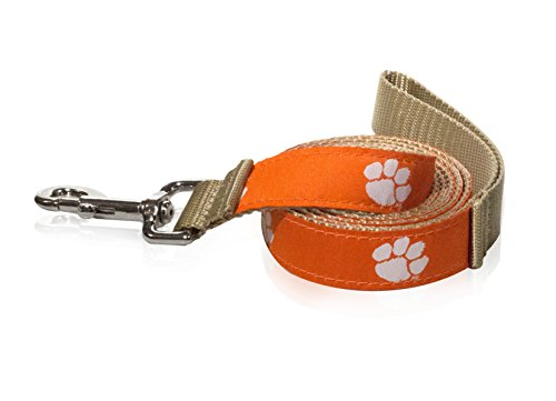 (ZEP-PRO Clemson Tigers Dog Leash - NCAA - Made in the U.S.A.)