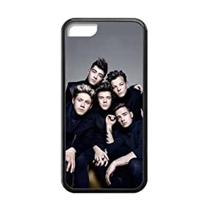 iPhone 5C Case Famous One Direction Members Poster Pattern Cover Cases for iPhone 5C TPU (Laser Technology)