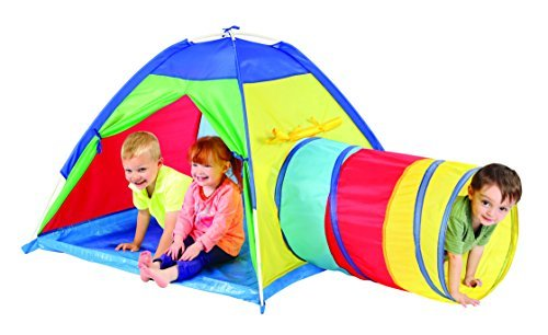 Multi-Color Tent with Tunnel by Etna