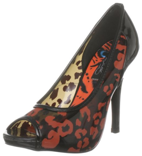 Iron Fist Raw Power, Damen Peep Toes Schwarz (transparent)