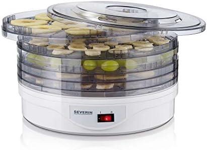 Severin OD 2940 Deshidratador Automático de Frutas con 5 Cestas ...