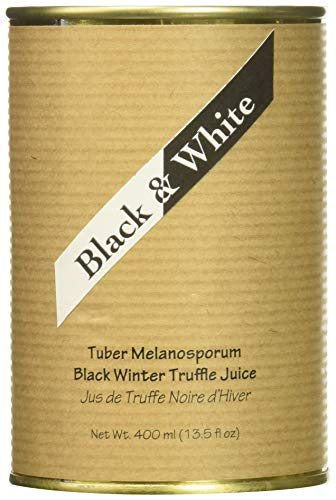 Truffle Juice Black - Black & White Winter Truffle Melanosporum Juice, 400 Gram
