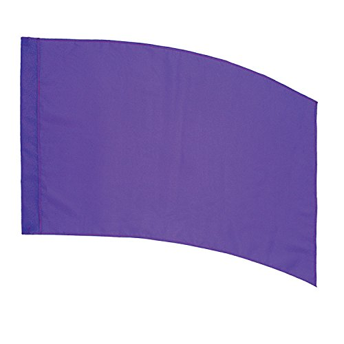 DSI Color Guard Practice Flag (PCS) - Curved Rectangle - Purple