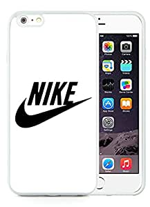 Unique And Luxurious Designed For iPhone 6 Plus 5.5 Inch TPU Cover Case With Nike 27 White Phone Case