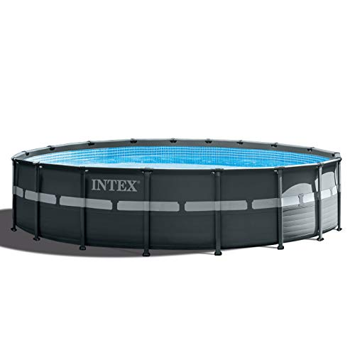 Intex Above Ground Pools - Intex 18ft X 52in Ultra XTR Pool Set with Sand Filter Pump, Ladder, Ground Cloth & Pool Cover
