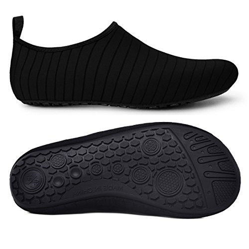 Swim Black Shoes Outdoor Surfing Exercise Water Shoes Yoga Mens Barefoot Snorkeling Comcrib for Skin Running Beach Diving Womens Socks wqzUXnx1R