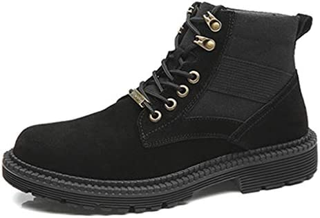 メンズブーツ エンジニアブーツ メンズ 大きいサイズ 秋冬 ショートブーツ ワークブーツ トレンド 紳士靴 おしゃれ カジュアル かっこいい レースアップブーツ マーティンブーツ 歩きやすい 防水 防滑 防撞