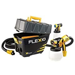 The Wagner FLEXiO 890 is an indoor and outdoor portable paint system to speed up a wider variety of painting projects. It comes with the innovative iSpray nozzle for broad surface coverage great for spraying walls, decks, and more. The Detail...