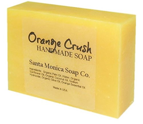 Santa Monica Soap Co. Handmade Soap - Orange - Orange Soap