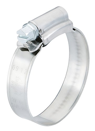 Scandvik 08134037027 Stainless Steel Hose Clamp (SAE Size 12, 22-32 mm, 7/8
