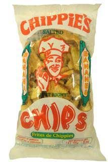 CHiPPiE'S Banana Chips (5 ozs.)-6 Pack Not Sweetened but Salted 'Just Right' ()