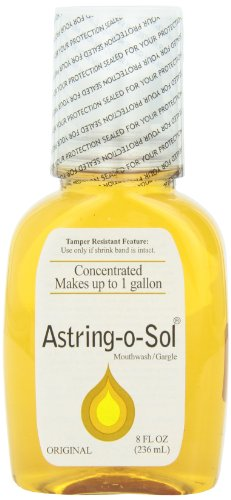 Astring-O-Sol Mouthwash, 8 Ounces