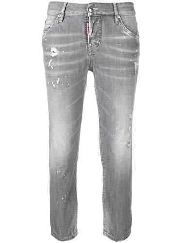 Grigio Donna Jeans Dsquared2 S75lb0105s30260852 Cotone vwpqYPxO6