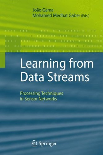 Learning from Data Streams: Processing Techniques in Sensor Networks